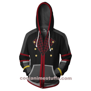 Kingdom Hearts Sora Zip Up Hoodie