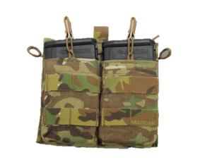 7.62 Drop Down Admin Pouch, Double