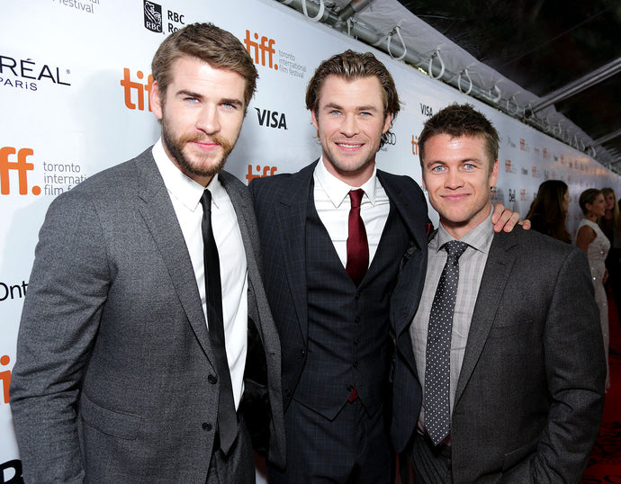 Why to fall in love with bath salts.....and the Hemsworth brothers.