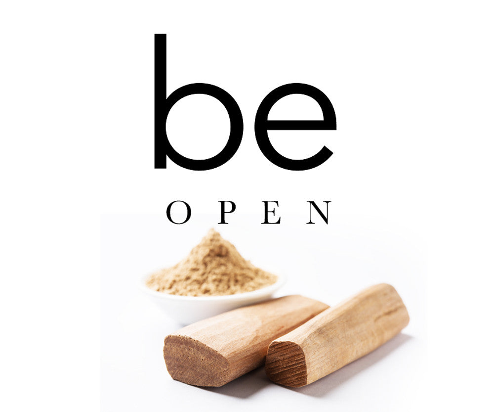 be open - grounding bath salts