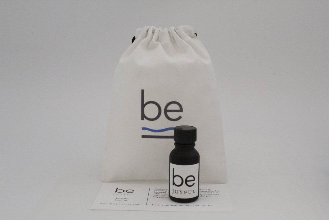 be joyful - blissful bath oil