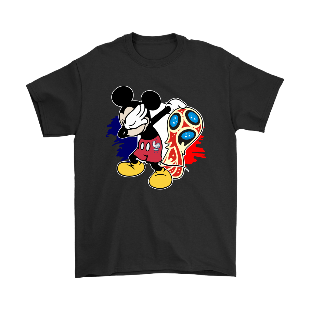 2018 France World Cup Champions Mickey Dabbing Shirts
