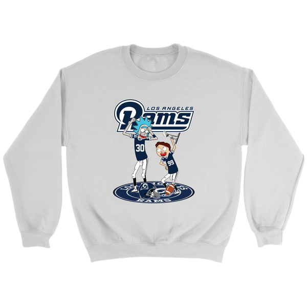NFL – Los Angeles Rams Rick And Morty  Super Bowl 2019  Football  Shirts