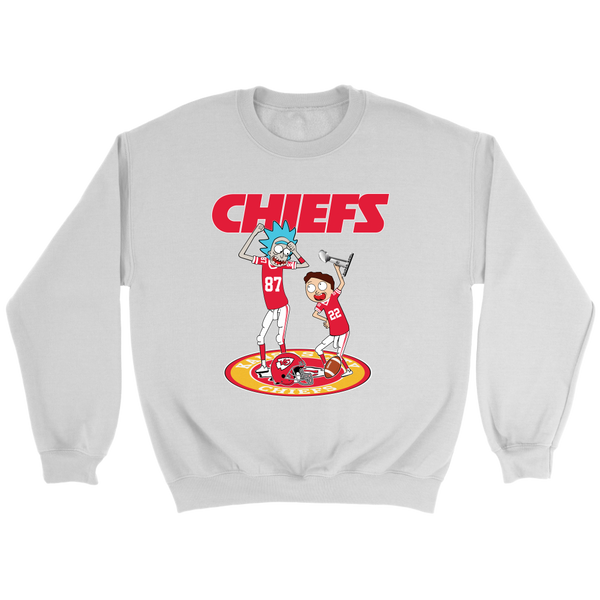 NFL – Kansas City Chiefs Rick And Morty  Super Bowl 2019  Football  Shirts