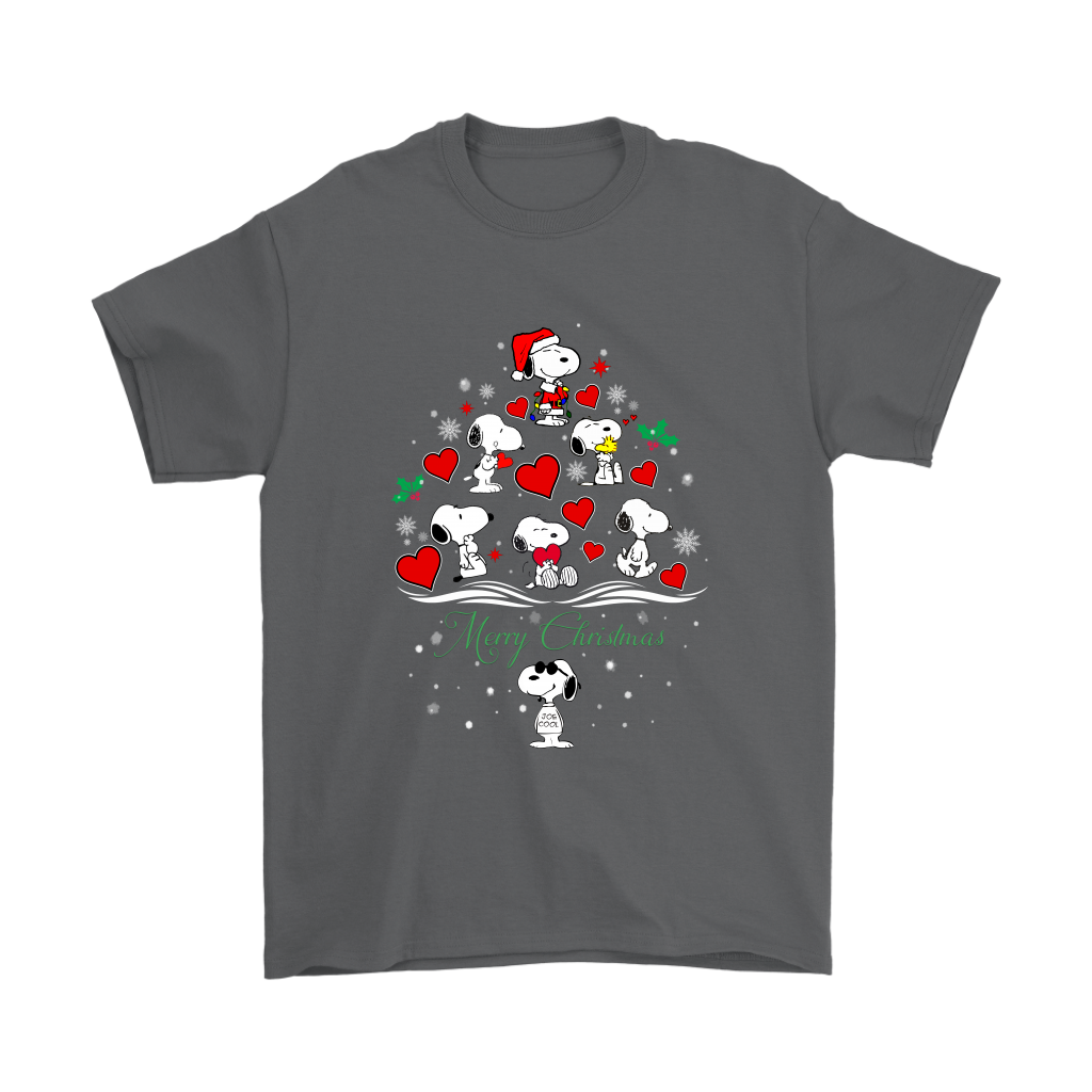 snoopy merry christmas the peanuts movie shirt t shirt gildan mens t - Snoopy Merry Christmas