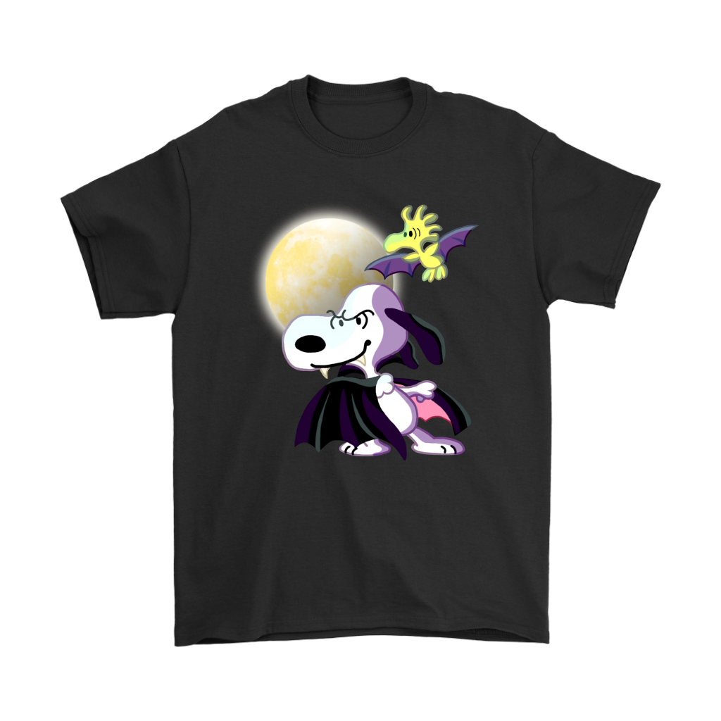 snoopy woodstock the peanuts movie halloween shirts