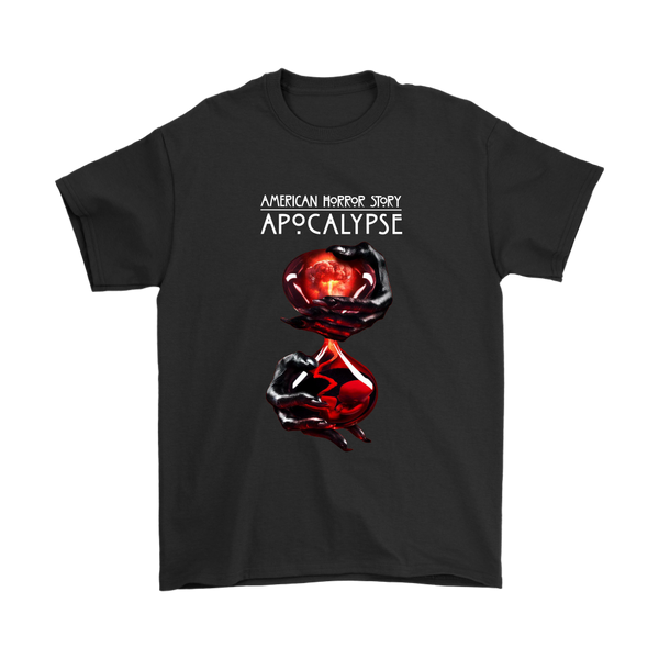 American Horror Story : Apocalypse AHS Shirts-T-shirt-Gildan Mens T-Shirt-Black-S-Itees Global
