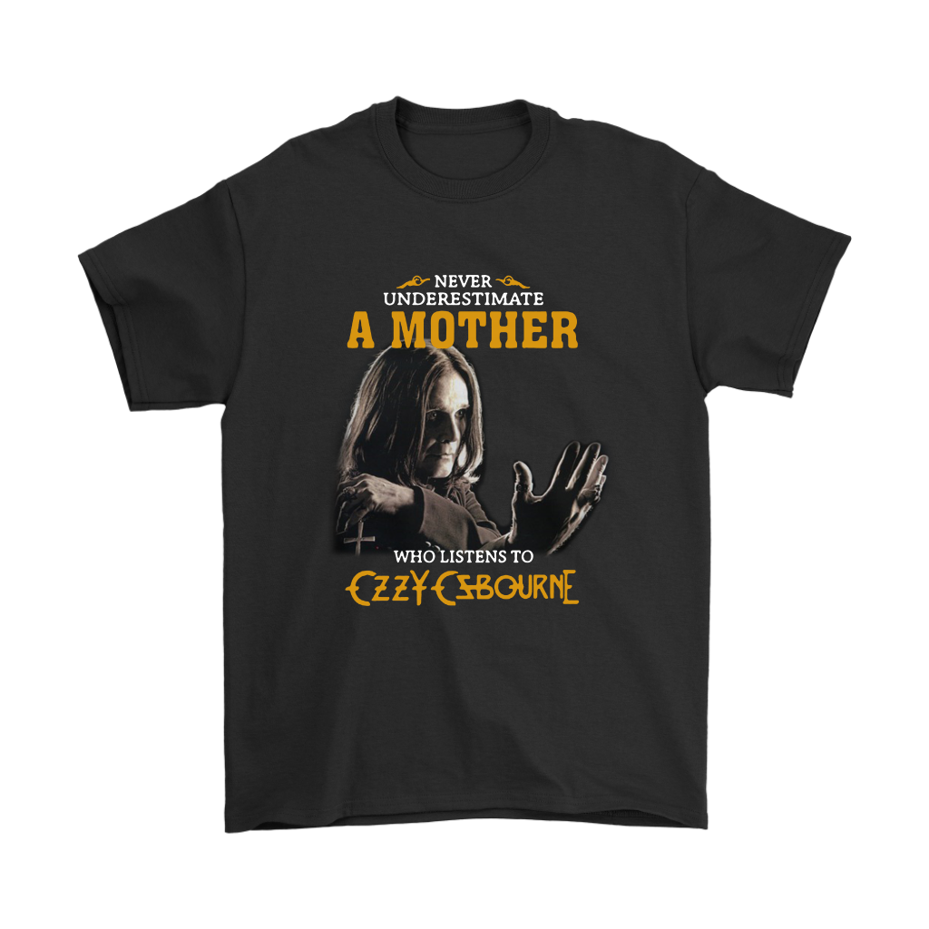 A Mother Who Listens To Czzy Czbourne Music Shirts