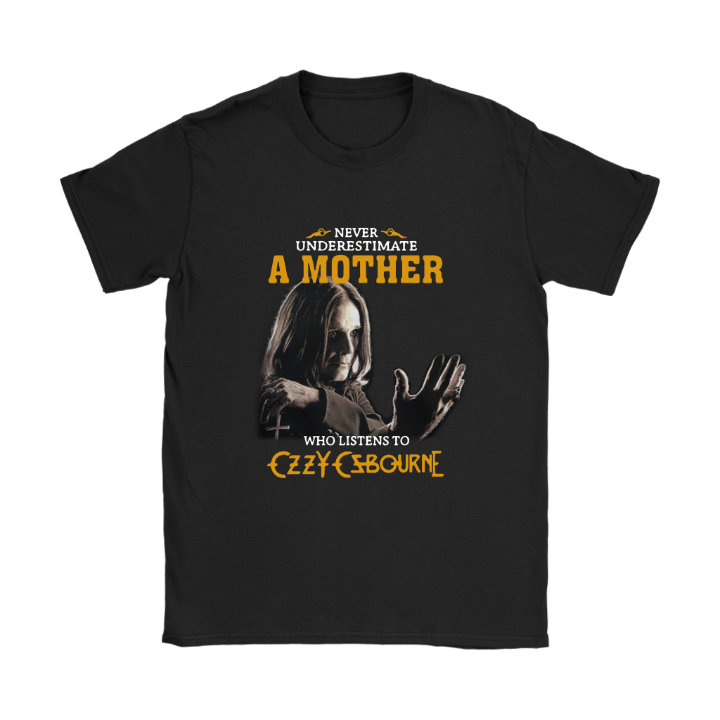 A Mother Who Listens To Czzy Czbourne Music Shirts Women