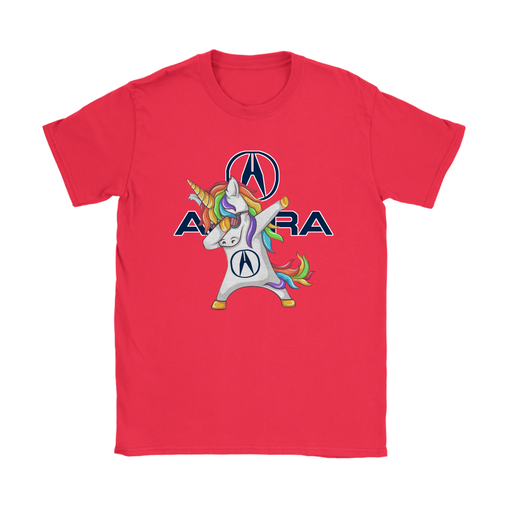 Acura Unicorn Dabbing Cars Shirts