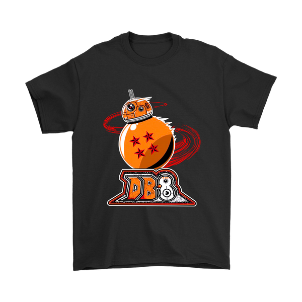 BB-8 Beebee-Ate Star Wars Dragon Ball Shirts-T-shirt-Gildan Mens T-Shirt-Black-S-Itees Global