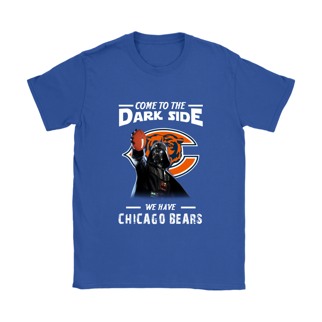 Top Come To The Dark Side We Have Chicago Bears Shirts Women Alottee  supplier