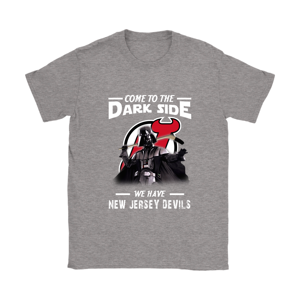 wholesale dealer 601c2 59cbe Come To The Dark Side We Have New Jersey Devils Shirts Women