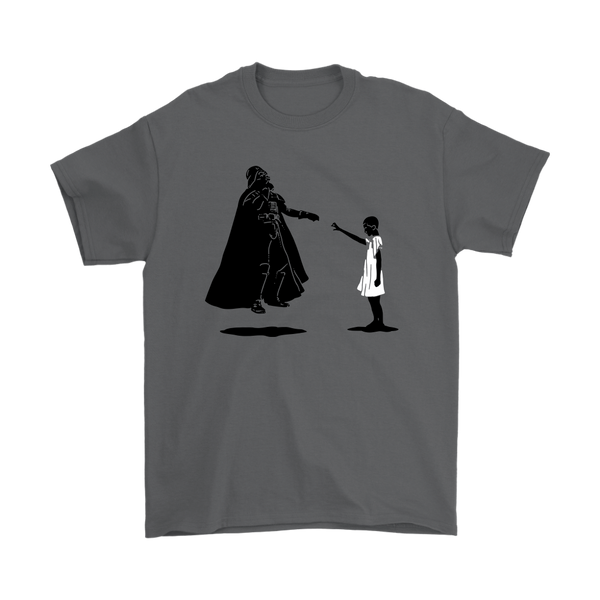 Darth Vader Star Wars Eleven Stranger Things Shirts-T-shirt-Gildan Mens T-Shirt-Charcoal-S-Itees Global
