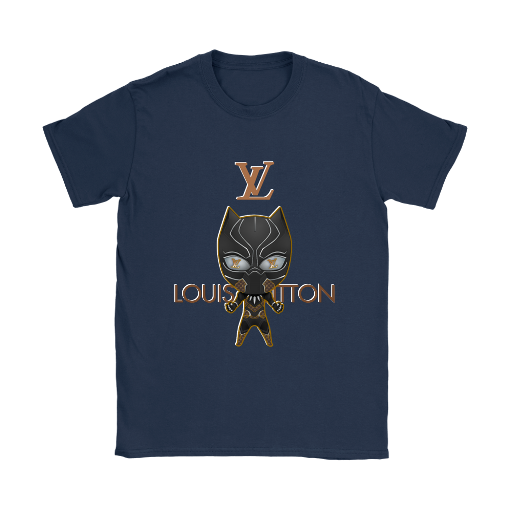 3fefb687d3c5 Deluxe Superhero Black Panther Louis Vuitton Movies Shirts Women ...
