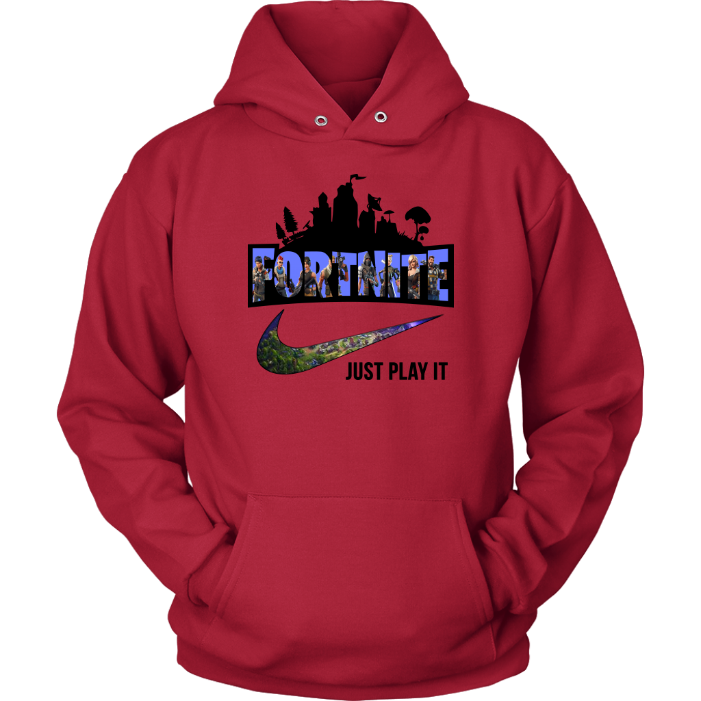 Fortnite Nike Just Play It Logo Shirts