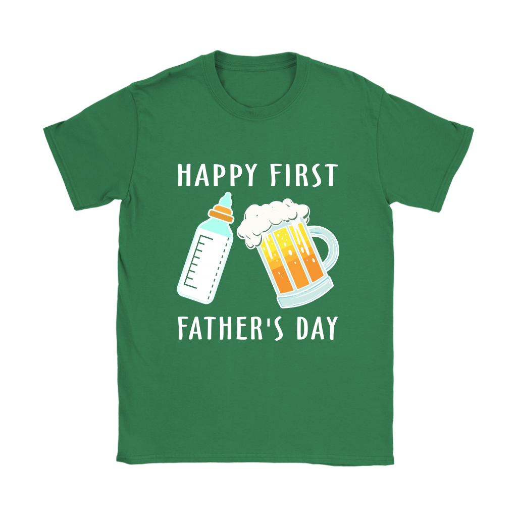 0d24afb8 Happy First Father's Day Family Shirts Women - Alottee