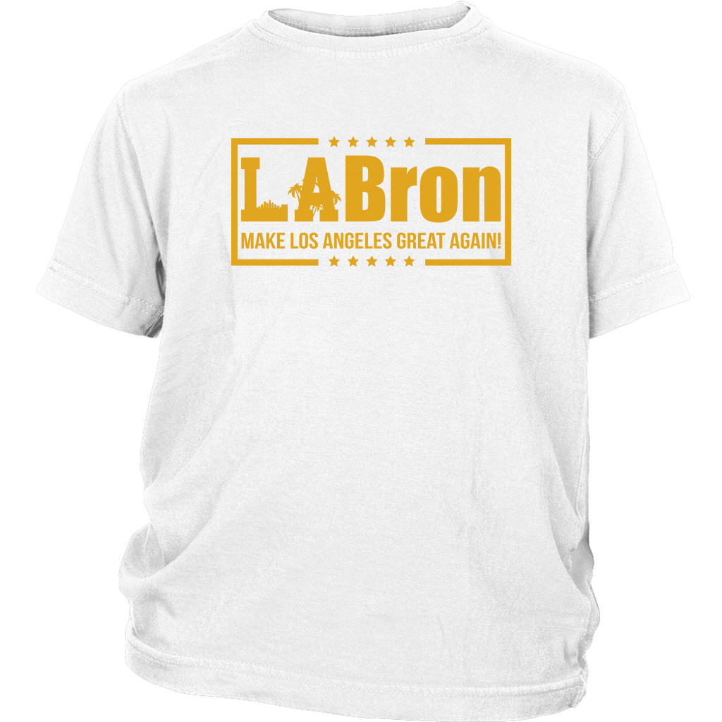 La Bron Make Los Angeles Great Again Nba Basketball Shirts