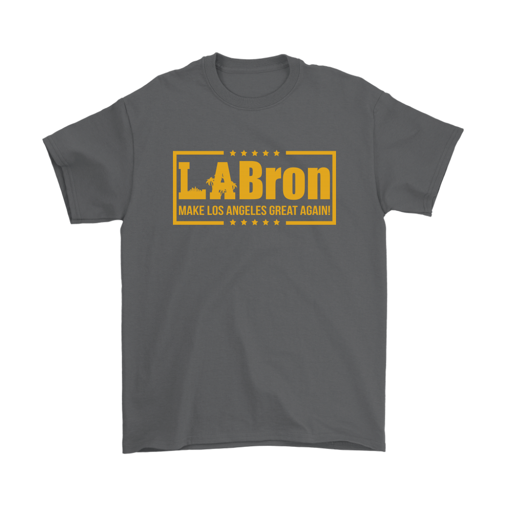 La Bron Make Los Angeles Great Again Nba Basketball Shirts Alottee