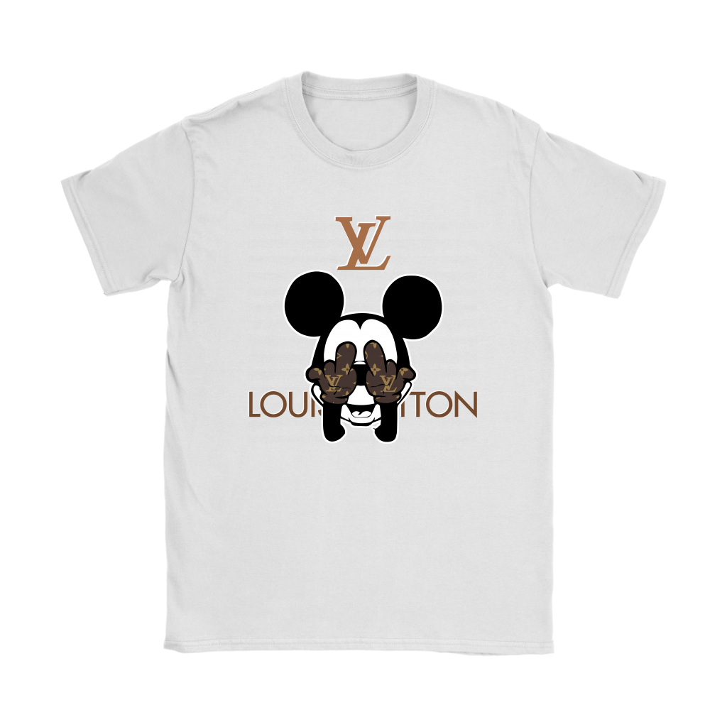 04e55a4ce8b0 Louis Vuitton Great Mickey Mouse Shirts Women - Alottee