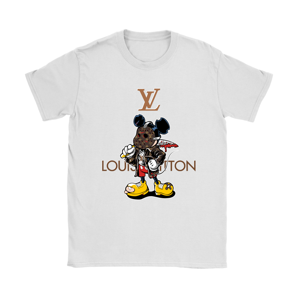 fa0d2f441621 Louis Vuitton Jason Voorhees Mickey Mouse Shirts Women - Alottee