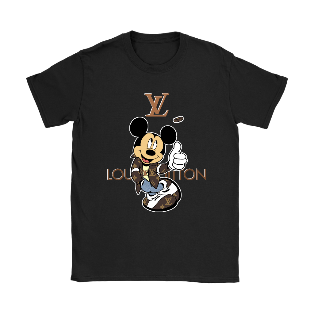 Louis Vuitton Lovely Mickey Mouse Shirts Women