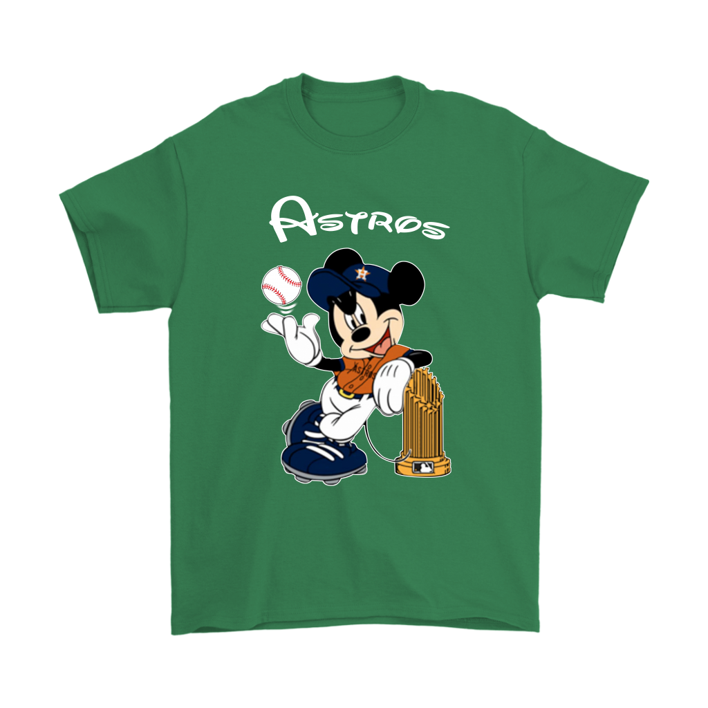 Mickey Baseball Champions Astros World Series Shirts