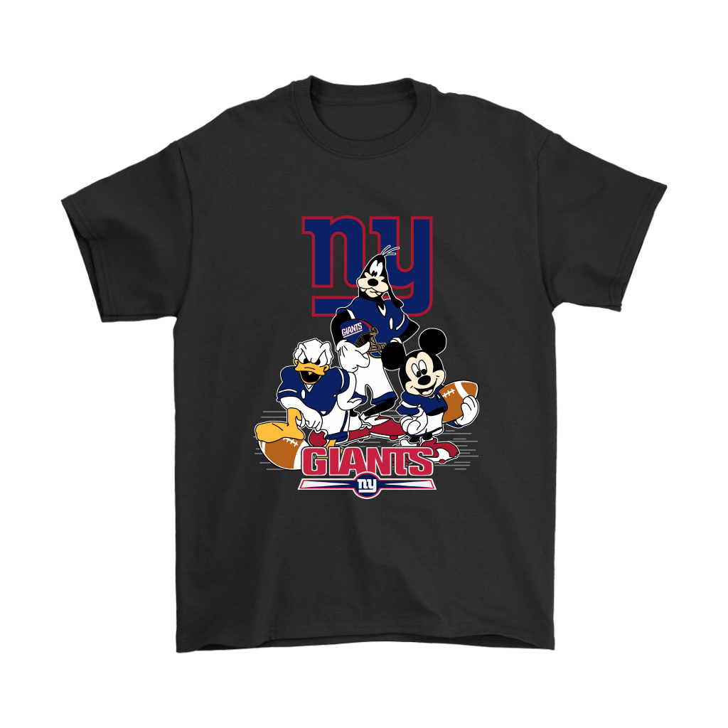 Mickey Mouse NFL New York Giants American Football Sports Shirts