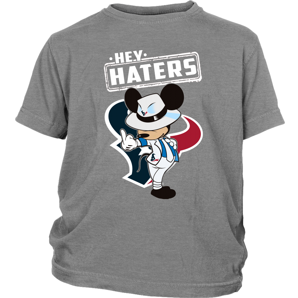 56a23e58 ... reduced discount nfl houston texans mickey mouse hey haters shirts t  shirt district youth c70a2 eddb9