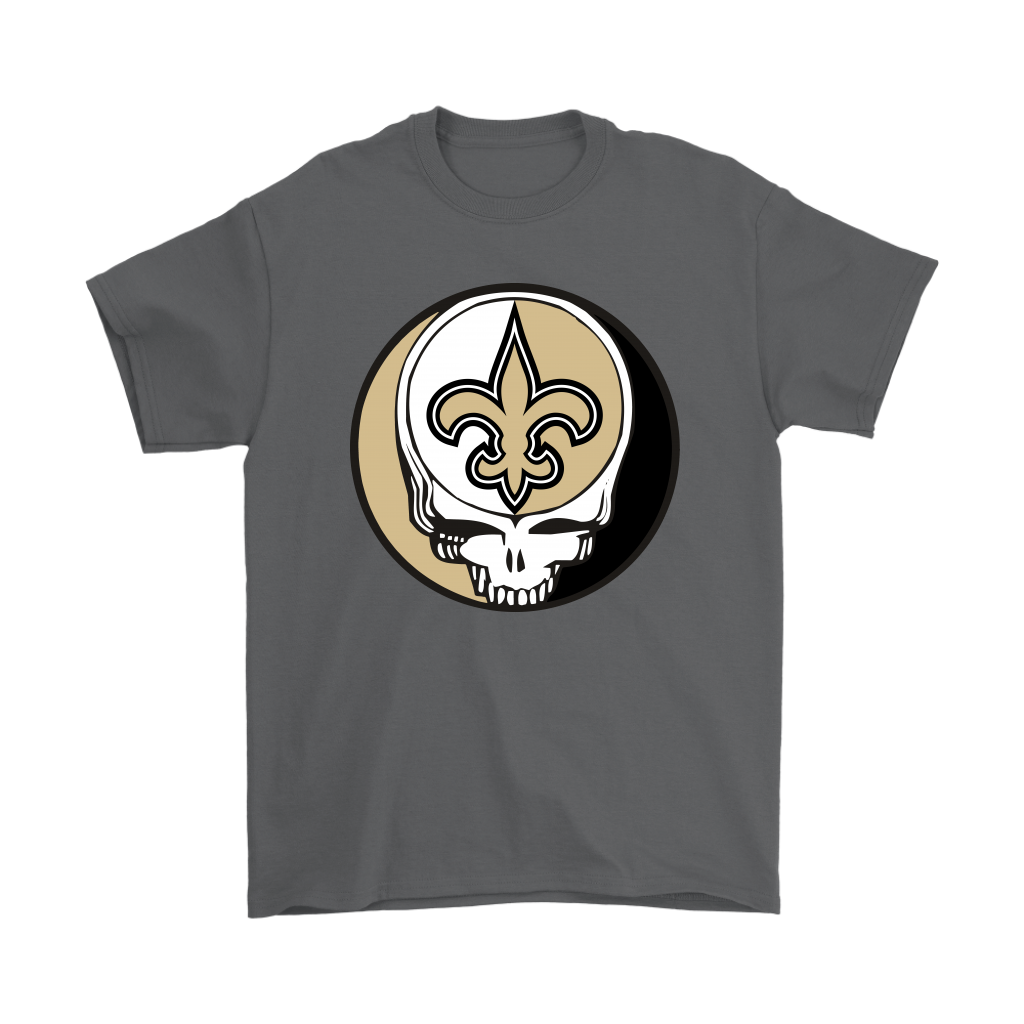 NFL - New Orleans Saints Grateful Dead Steal Your Face Football NFL Shirts