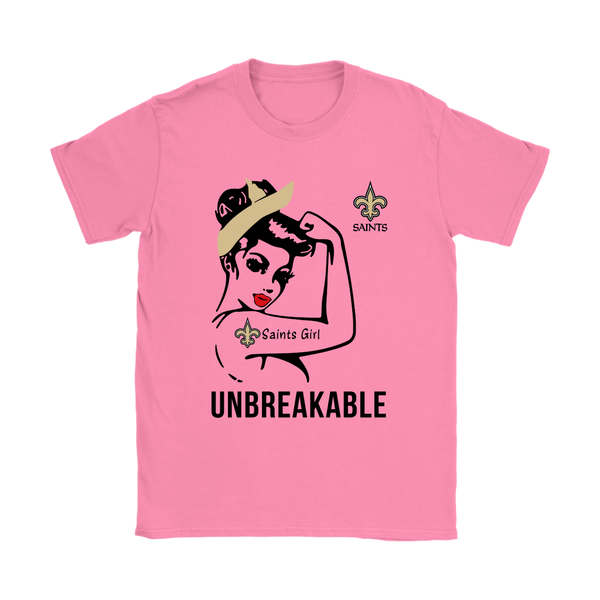 NFL - New Orleans Saints Unbreakable American Football Shirts-T-shirt-Gildan Womens T-Shirt-Azalea-S-Itees Global