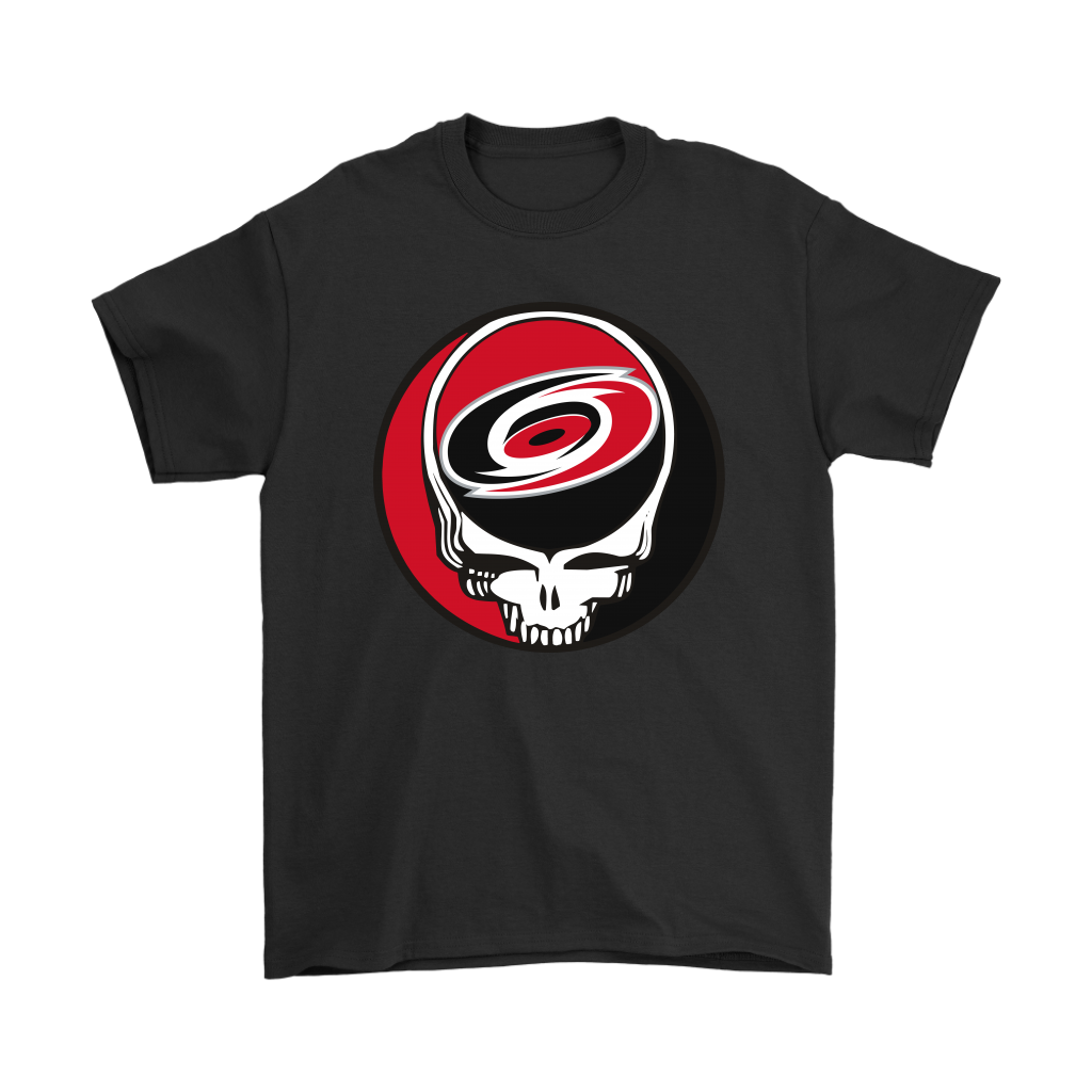 NHL - Carolina Hurricanes Grateful Dead Steal Your Face Hockey NHL Shirts