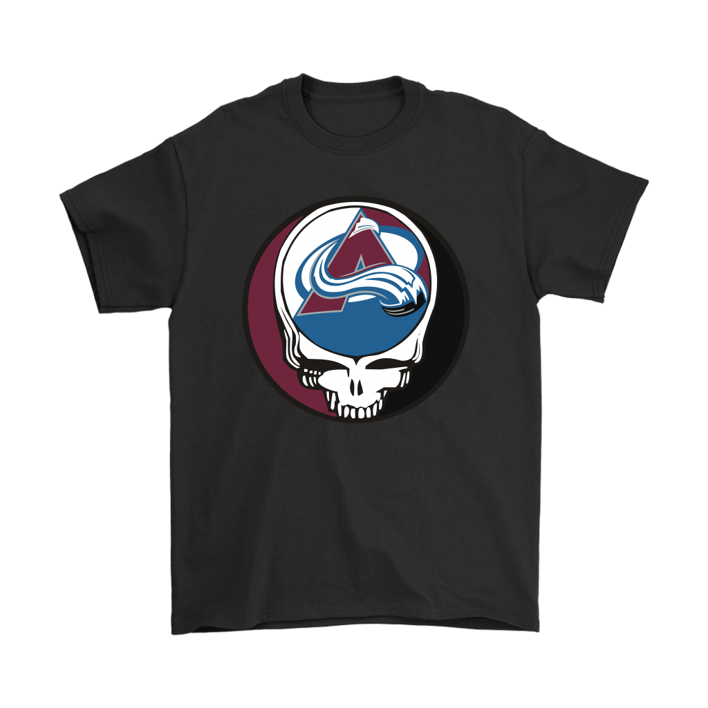 NHL - Colorado Avalanche Grateful Dead Steal Your Face Hockey NHL Shirts
