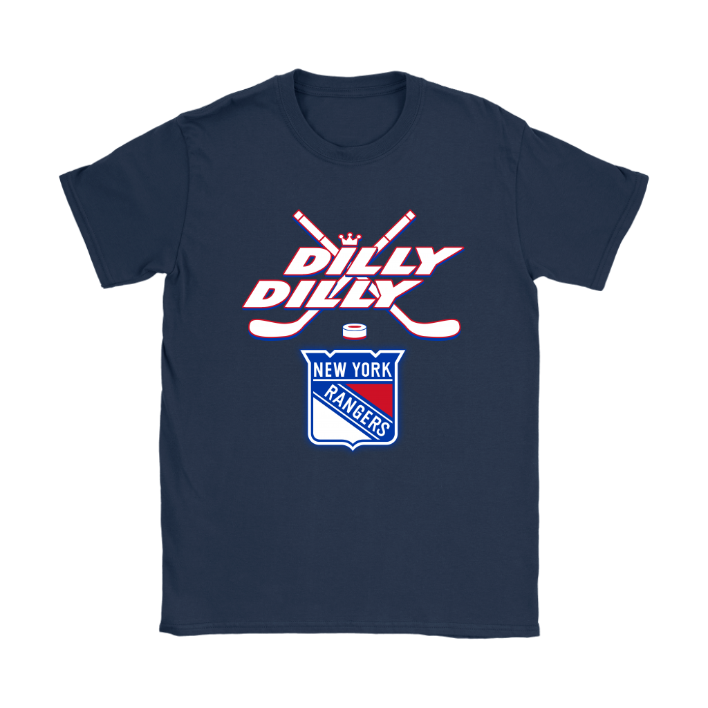 NHL – Dilly Dilly New York Rangers Hockey Shirts-T-shirt-Gildan Womens e1962e45fe