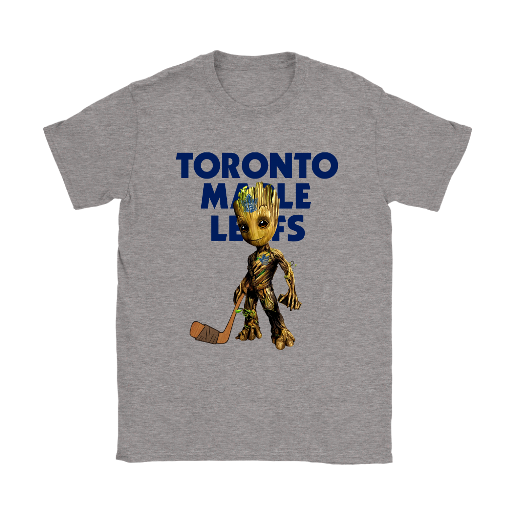 fc37289c4 NHL - Toronto Maple Leafs Guardians Of The Galaxy Groot Hockey NHL Hockey  Shirts