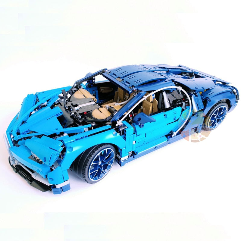 DHL Legoing 4031pcs Technic 42083 The Bugatti Chiron Racing Car Sets Model Building Block Brick Toys For Children Birthday Gift-Toys-blue-Itees Global