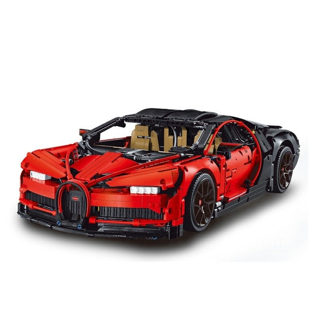 DHL Legoing 4031pcs Technic 42083 The Bugatti Chiron Racing Car Sets Model Building Block Brick Toys For Children Birthday Gift-Toys-red-Itees Global