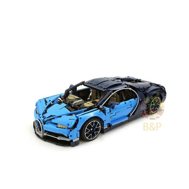 DHL Legoing 4031pcs Technic 42083 The Bugatti Chiron Racing Car Sets Model Building Block Brick Toys For Children Birthday Gift
