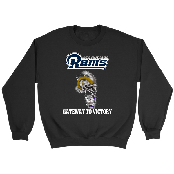 NFL – Los Angeles Rams Super Bowl 2019 Football Shirt-T-shirt-Crewneck Sweatshirt-Black-S-Itees Global