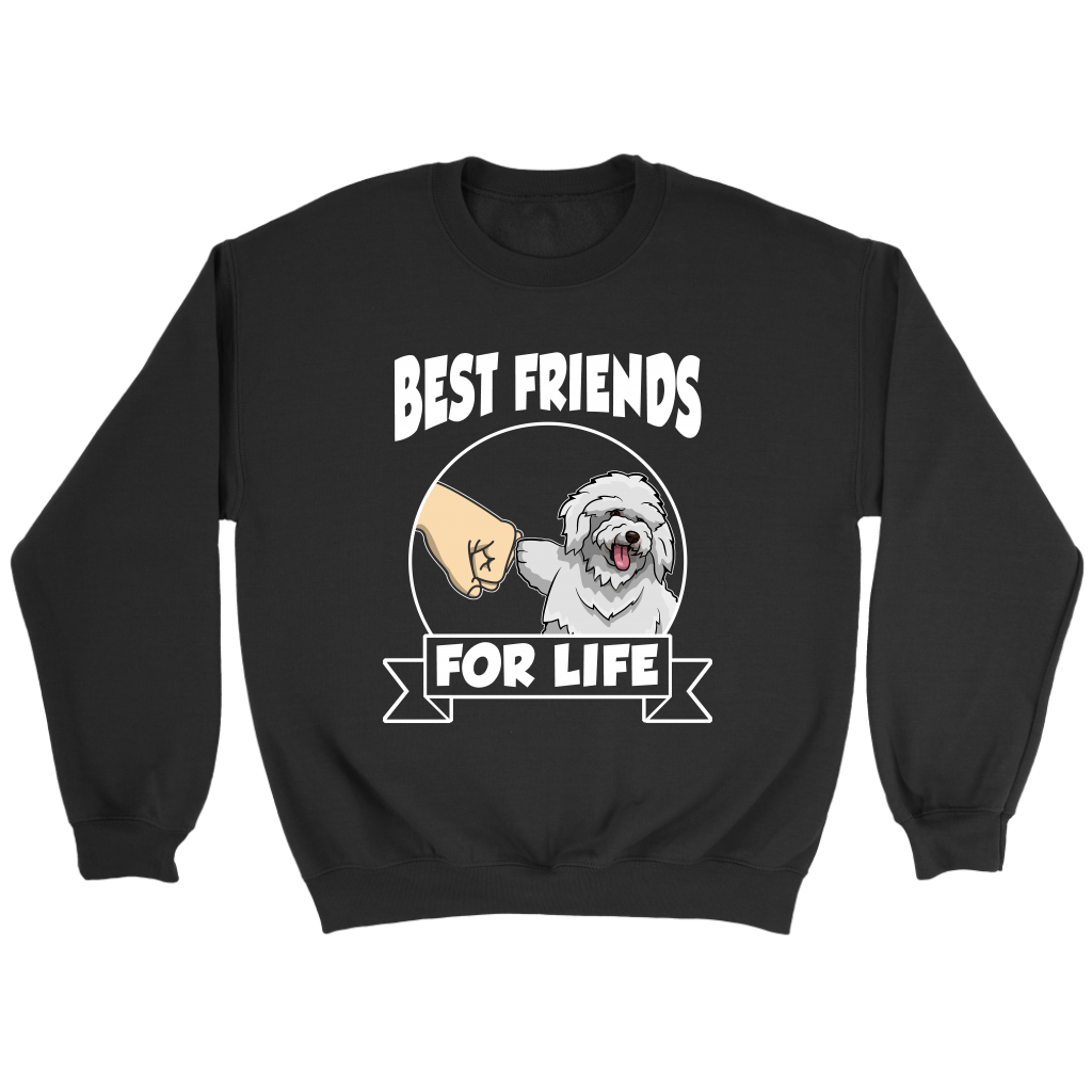 Bichon Frise Best Friends For Life Dog Shirts