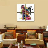 Buddha Canvas  Wall PicturesFor Living Room - 4Pcs