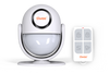 All in one motion detector, siren and host