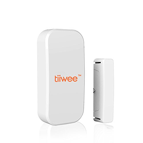 tiiwee Window & Door Sensor TWWS02 for the Tiiwee Home Alarm System - Wireless Anti-Burglar Home Alarm System - Home Security - Set of 2