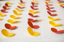 Heart Shaped Place Cards (50 Pieces)