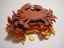 21 Paper Crab Die Cuts