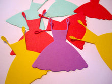 20 Paper Wedding Dress Die Cuts