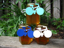 12 Honey Favours with Bicycle Tags (3.75 oz)