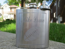 Sports Themed Personalized Stainless Steel Flask
