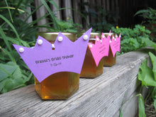 12 Honey Favours with Princess Crown Tags (3.75 oz)
