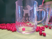 Custom Engraved Mug Featuring Penguin or Reindeer